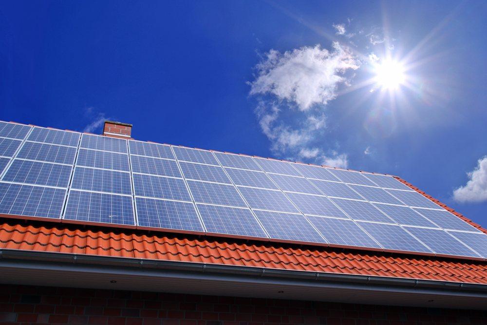 Dachreinigung Solaranlage